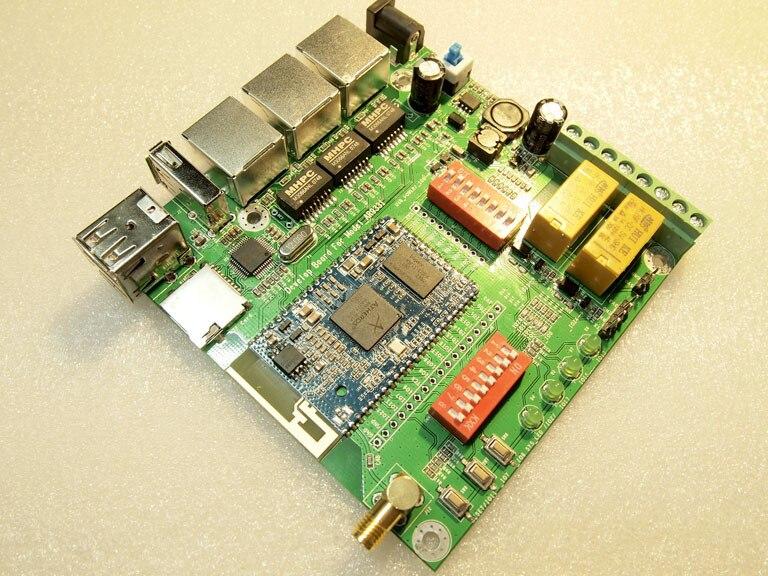 Livraison Gratuite! 1pcx AR9331 carte de développement de module wifi m150 pour EL-M150 prend en charge le capteur de stockage sans fil openwrt