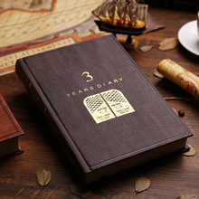 YINGLIJIA Three Years Five Years Life Diary Notebook Vintage Stationery Reading