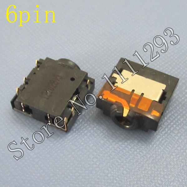 5pcs/lot Earphone Jack , MIC Jack , Audio Jack for Lenovo B480 V480C B490 M490 M495 B580 V580C B590 Laptop Headphone Jack