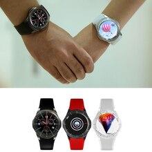 Dm368 smart watchรอบhd 3กรัมgps wifiอัตราการเต้นหัวใจสำหรับiosและandroid