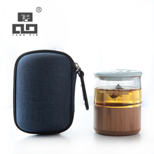 TANGPIN heat-resistant glass tea mugs handmade travel coffee for 250ml