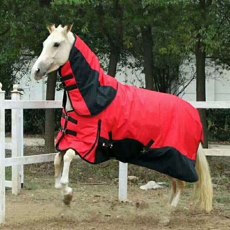 Winter Horse Racing Clothing Thicken Warm Cotton Horse Rugs Windproof Detachable Horse Harness
