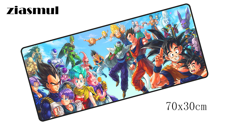 Dragon Ball padmouse 700x300mm pad to mouse notbook computer mousepad Vegeta gaming mouse pad gamer to laptop mouse mats