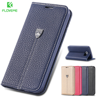 Original Brand Logo Luxury Flip Wallet Leather Case For Samsung Galaxy S6 G9200 With Card Slot