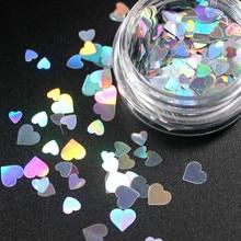 Разноцветные одноцветные тени для век в форме сердца, женские тени для макияжа, блестящая пудра для макияжа CHT7