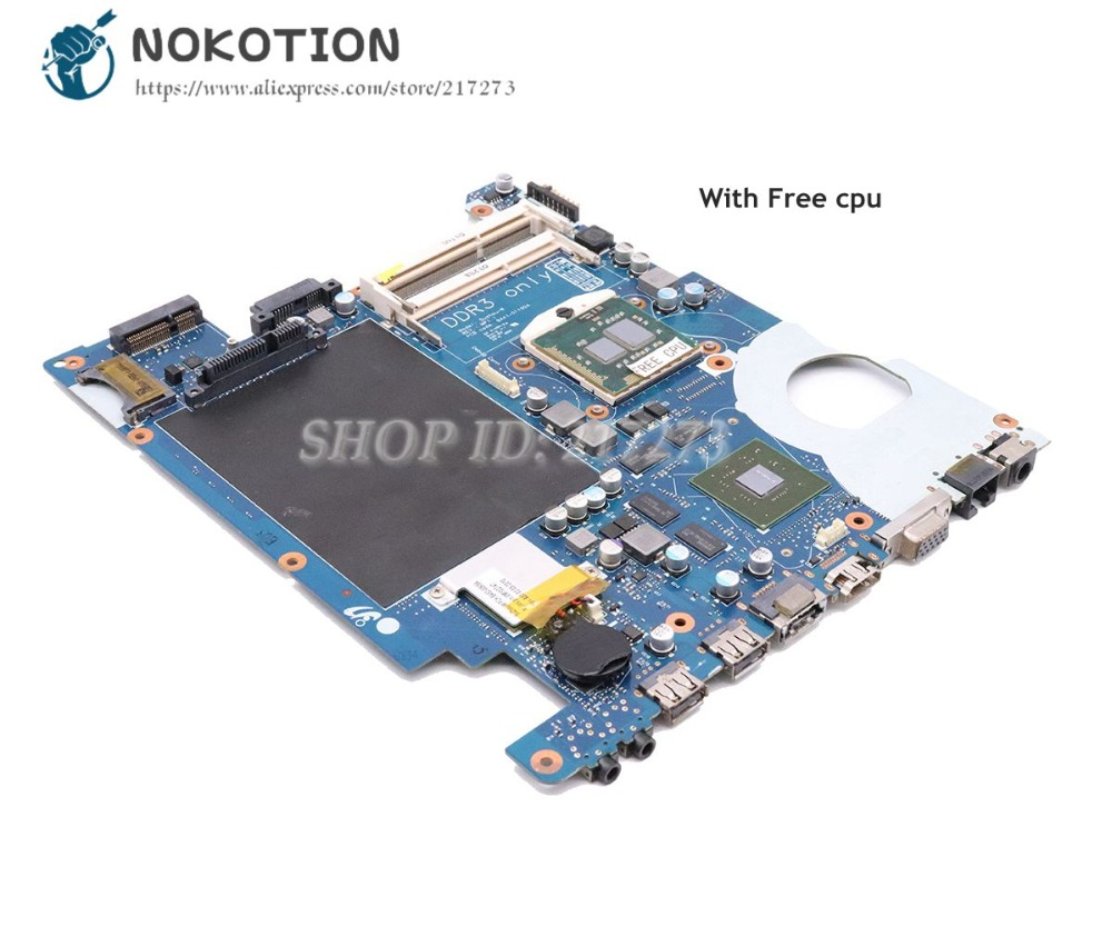 NOKOTION For Samsung R480 Laptop Motherboard HM55 GT330M DDR3 BA41-01190A BA41-01191A BA41-01192A BA92-06019A BA92-06019BNOKOTION For Samsung R480 Laptop Motherboard HM55 GT330M DDR3 BA41-01190A BA41-01191A BA41-01192A BA92-06019A BA92-06019B