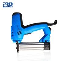 PROSTORMER 2000W Woodworking Eletric Nail Gun 220V 240V Power Nailer Stapler Straight Nail& Door Nail Staplers Power Tool