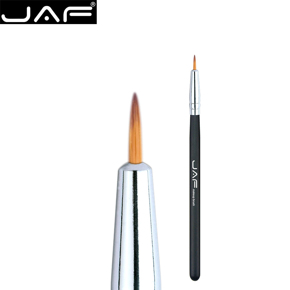JAF Pro fashion Cosmetic Fine Eyeliner Brush Point-tip Precise Lip brushes Eyeshadow Eye Brow Makeup Tools Taklon Hair 01SBY free customs taxes electric bike battery 48v 30ah triangle battery 48v 1000w electric bike lithium battery for panasonic cell