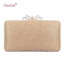 hot deal buy fawziya bow crystal clutch purses for women evening bags and clutches