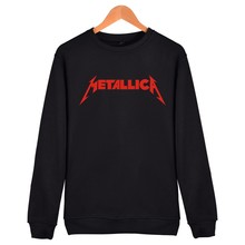 Popular Metallica Capless Sweatshirt Men Hip Hop Fashion Streetwear Hoodie Women Winter Long Famous American Band Funny Clothes