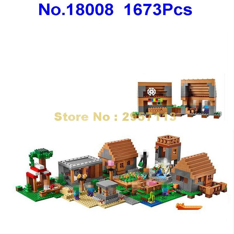Lepin 18008 1673pcs My World Classic House Architecs