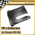 Car-styling For Nissan 2012 On R35 OEM Style Matt Carbon Fiber Rear Under Bottom Diffuser