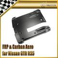 Car-styling For Nissan 2012 On R35 OEM Style Matt Carbon Fiber Rear Under Bottom Diffuser