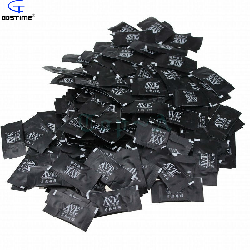 100pcs/lot Black Heatsink Mini Compound Thermal Paste Grease For PC CPU VGA free shipping фронтальная панель ravak avocado 160 p белая czi1000a00