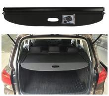Для Volkswagen VW Tiguan 2010-2018 задний багажник Грузовой Обложка щит безопасности Экран тени Высокое качество автомобильные аксессуары