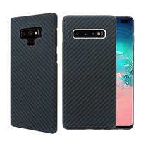 Carbon Fiber Case for Samsung Galaxy S10 Plus Case Cover Shockproof Back Protective Cover for Samsung Note 9 S9 Plus S10E Case