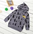 2016 AUTUMN WINTER KIDS  beau loves brand hoodies girls boys sweaters girl hoodies boys hoodies baby boys clothES KIDS HOODIES