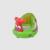 Cadeira portátil Do Bebê Sofá Inflável PVC Bonito Dos Desenhos Animados Toy Boneca Sofás Beanbag Alimentação Enfermagem Assentos de Segurança do Assento de Banho BB0116