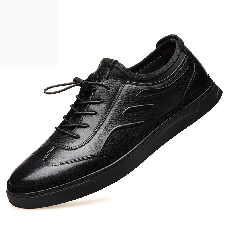 Новинка 2019 года, мужская повседневная обувь из натуральной кожи в европейском и американском стиле, мужская спортивная обувь