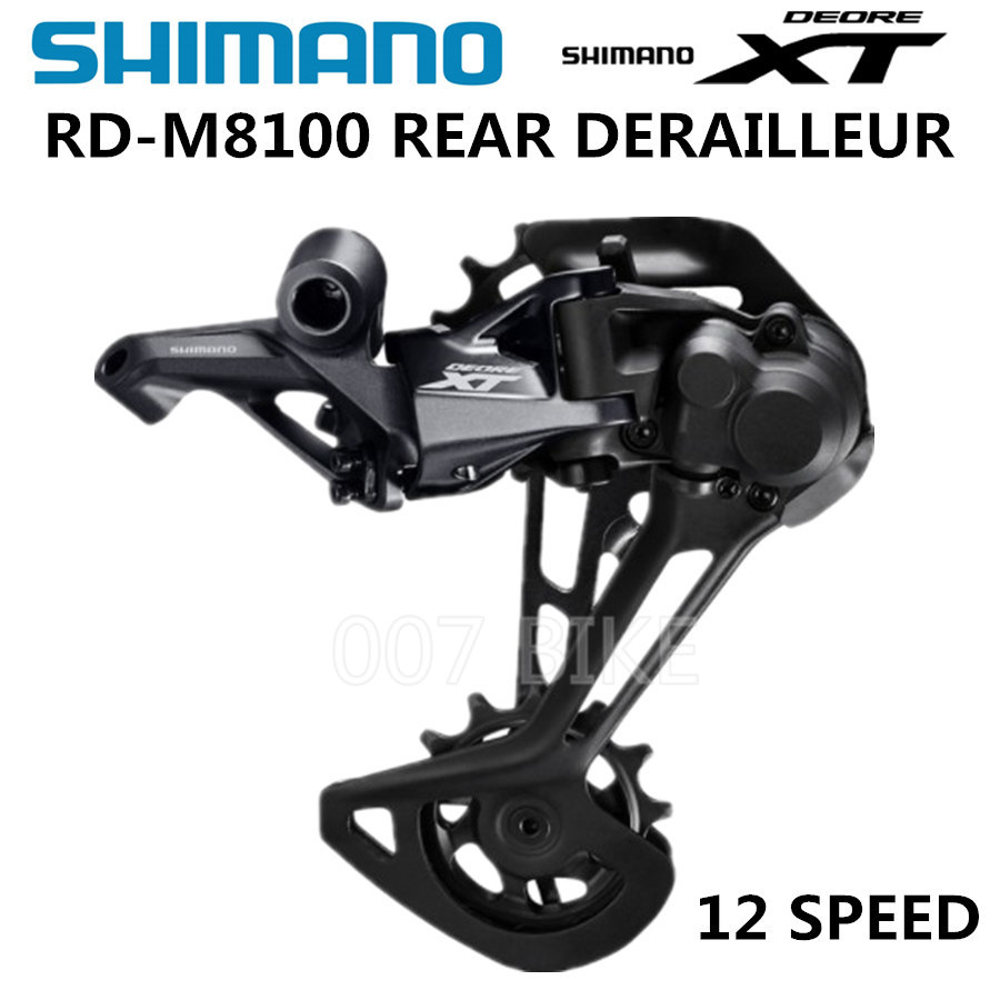 SHIMANO DEORE XT RD M8100 M8120 Rear Derailleurs Mountain Bike M8100 SGS MTB Derailleurs 12 Speed