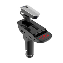 CDEN Wireless Bluetooth Headset FM Transmitter Car MP3 Player aux Audio TF Card U Disk Music Kit USB Charger