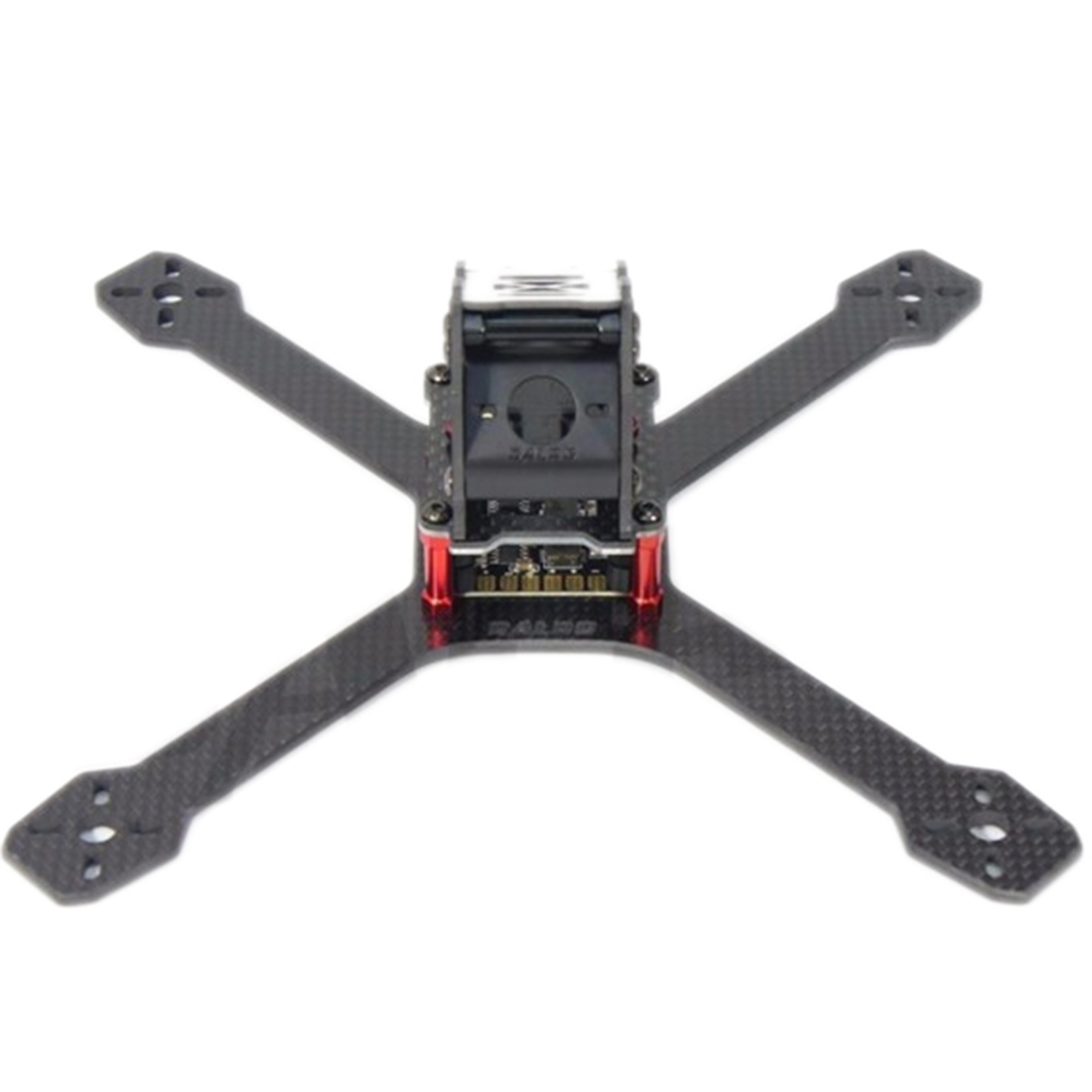 HOBBYINRC DIY FPV DALRC XR220 Carbon Fiber Drone Quadcopter Frame Kit with 5V 12V 3A PDB / LED Board RC Quadcopter  Accessories diy da500 carbon fiber quadcopter frame kit x4 x8 frame set for fpv photography rc frame drone multicopter airplane