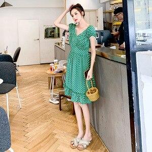 2019 Sexy kobiety letnia sukienka z krótkim rękawem solidna Slim sukienka na imprezę sukienka na co dzień na promocję