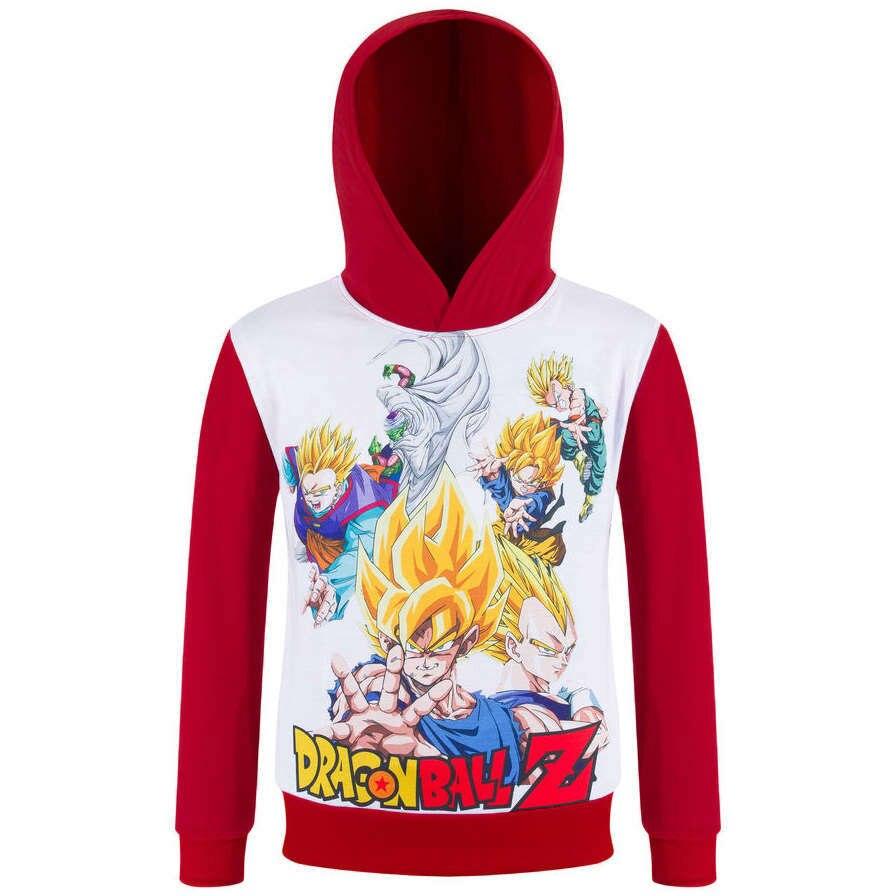 2017 Brand New dragon ball z Hoodies kids goku Sweatshirts boy children anime hooded outerwear boys girls hooded t shirt 3-10Y