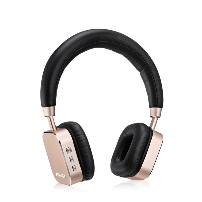 <font><b>AWEI</b></font> A900BL Universal Bluetooth4.1 Wireless Headset Stereo HiFi Musik Kopfhörer 18May22 Drop Schiff F image