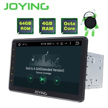JOYING Octa Core 64GB ROM 4GB RAM Android 8.1 car DVD 2 din Autoradio Stereo Multimedia System HD 10.1 inch IPS Screen Head Unit