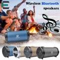 Et cilindro tubo bazooka estilo 3d surround stereo bluetooth speaker caixa de som portátil esporte ao ar livre 1800 mah graves profundos caixa