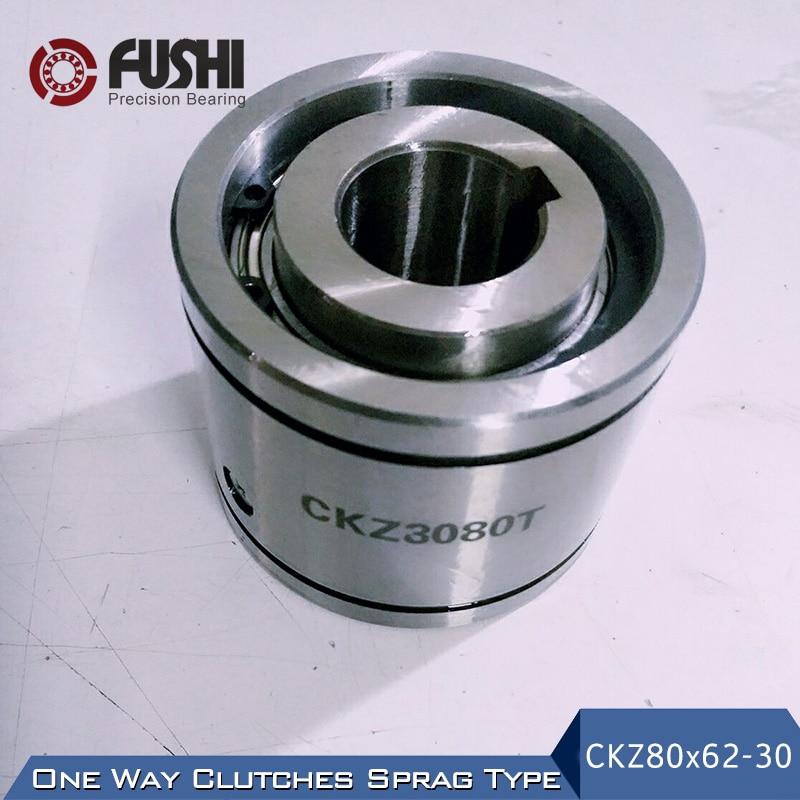 CKZ3080T One Way Clutches Sprag Bearing 80x62x30 mm ( 1 PC ) Wedge Overrunning Clutch CKZ 3080T ck d wedge type one way clutch 1 pc ck d2047 ck d2552 overrunning clutches