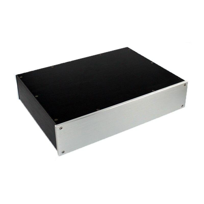 WA47 Full aluminum amplifier chassis / Pre-amplifier / DAC Decoder housing / AMP Enclosure / amplifier case / DIY box ya39 full aluminum silver amplifier chassis imitation gawain pre amplifier amp enclosure case diy box