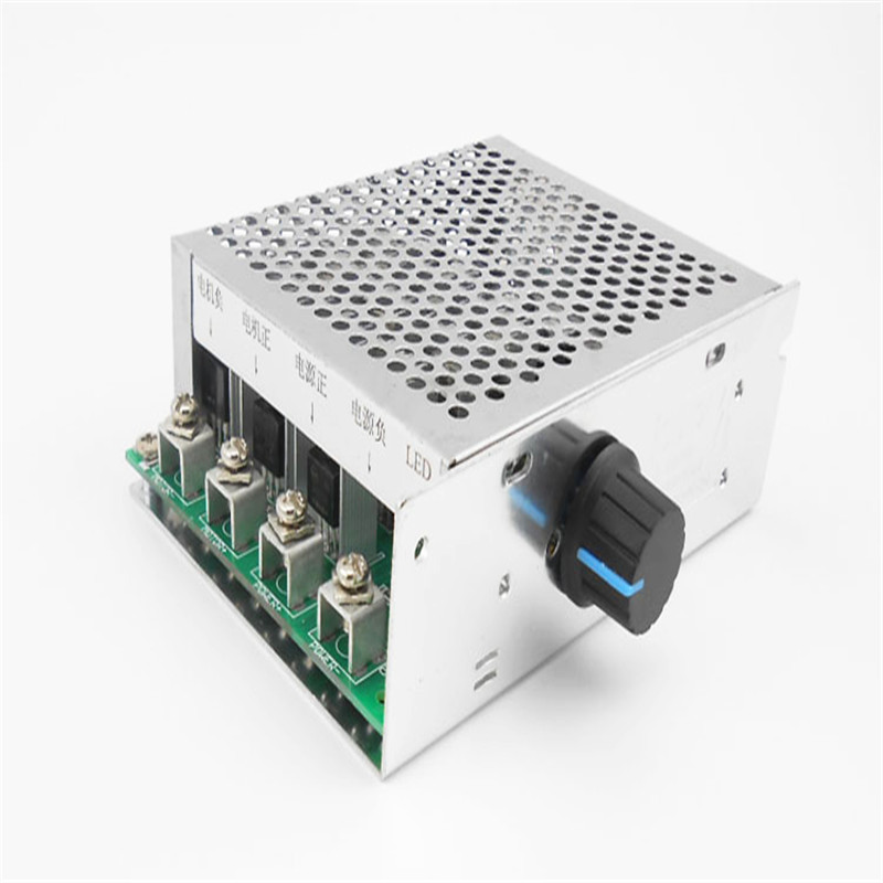 PWM DC Motor Speed Controller 10-55V Motor Driver Module Controller Speed Switch 55A 100A 10 50v 100a 5000w reversible dc motor speed controller pwm control soft start high quality