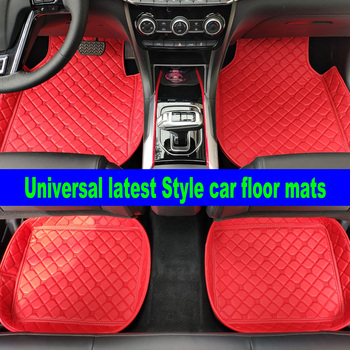 Universal Car Floor Mats For all models Skoda Superb Octavia Rapid Yeti Fabia image