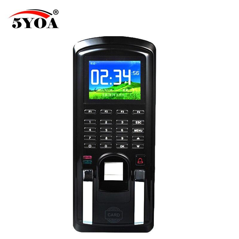 5yoa fingerprint clave de bloqueo Control de acceso máquina biométrico cerradura de puerta RFID lector Sistema de escáner