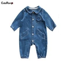 Модные джинсовые комбинезоны; одежда для малышей; синий детский комбинезон в ковбойском стиле для мальчиков; Комбинезон для маленьких мальчиков; Одежда для новорожденных мальчиков; джинсовый костюм для малышей