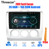 9 inch 2din Android 8.1 Car Radio 2G + 16G for 2005 2011 Ford Focus Autoradio GPS Navigation Bluetooth Stereo Multimedia player
