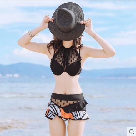 ФОТО Swimwear Women Swimsuits Sexy Plus Size Swim Wear Girls Bathing Suits Bikinis Pursuit New Underwire Polyester Acetate Traje De