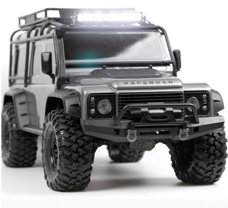 Super Bright RC Car Metal 44 LED Roof Lamp / Light Bar for 1/10 RC Crawler Axial SCX10 RC4WD D90 D110 TAMIYA CC01 Traxxas TRX-4 rc led roof light bar for 1 8 1 10 hsp hpi kyosho traxxas 4wd rc car monster truck axial scx10 tamiya cc01 rc4wd d90 rc crawler
