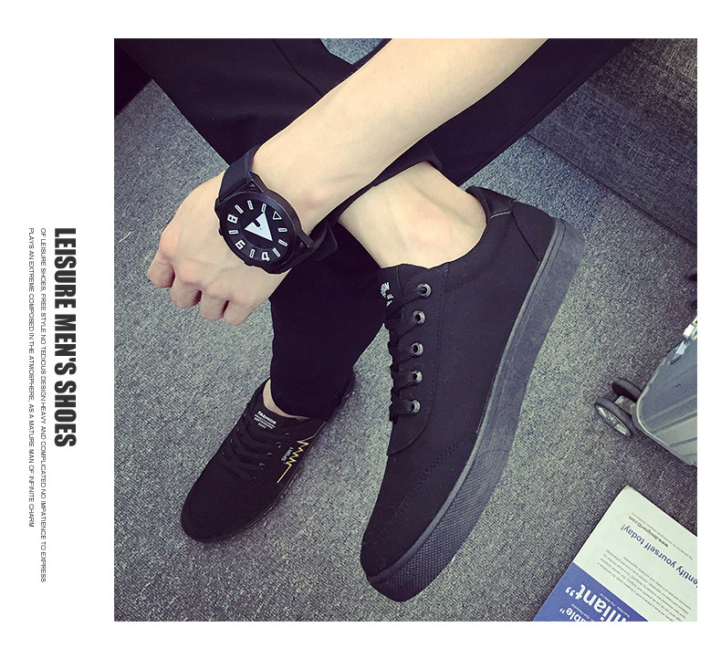 New 2019 Spring Summer Canvas Shoes Men Sneakers Top Black White Red Shoes Mens Casual Shoes Male Brand Fashion AQ692-712 C1New 2019 Spring Summer Canvas Shoes Men Sneakers Top Black White Red Shoes Mens Casual Shoes Male Brand Fashion AQ692-712 C1