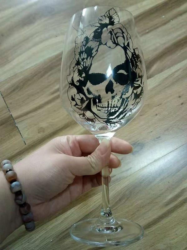 VG Skull Wine Glass