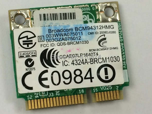 BCM4312 WIFI DRIVERS PC