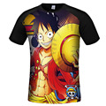 One Piece T shirt Men 2017 Fashion New Harajuku Style Anime Shirt Luffy Printed O-Neck Short Sleeve T-shirt S-3XL Brand Clothing