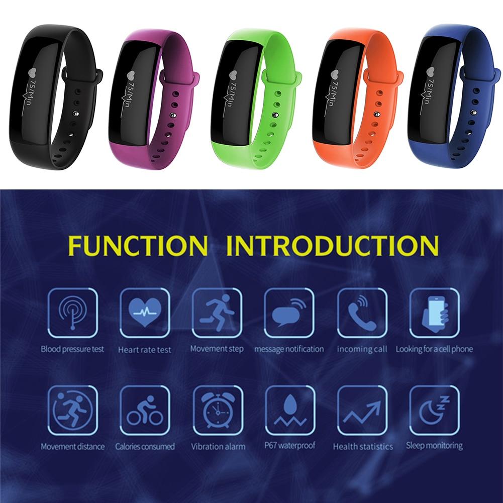 M88 Smartband Heart Rate Monitor Blood Pressure Smat Wristband Fitness Tracker Bluetooth Bracelet Smart Band for