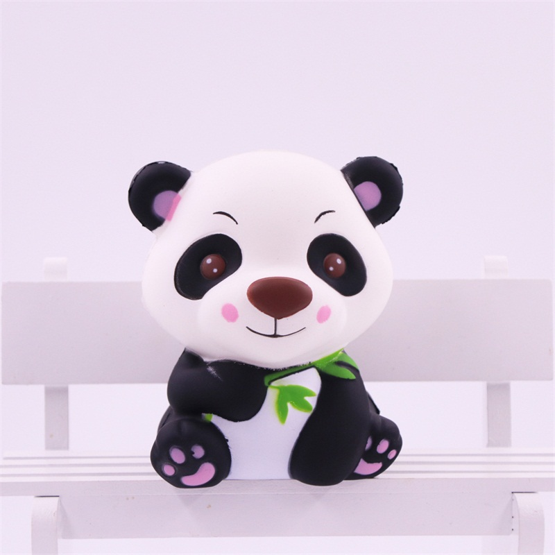Squishy Toy Cartoon Design Panda Squishy Slow Rising Cream Scented Toy Kids Kawaii Squish Antistress Toy Stress Reliever цена