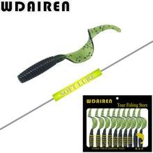 10pcs/lot 5.5cm 2.2g wobbler jigging soft Lure Artificial baits black fish culter Striped bass fishing gear tool weest WD-340