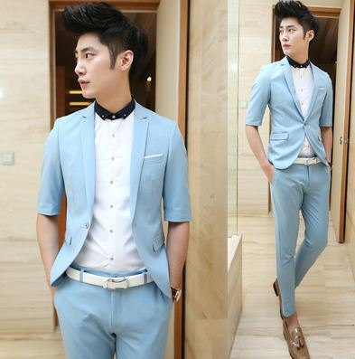 Teenagers boys Fashion Mens Prom Party Suits 2015 New Arrival ...