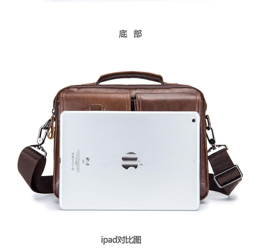 HTB13.K5hjDpK1RjSZFrq6y78VXaL men Genuine Leather Shoulder Messenger Bag men's Handbag Vintage Crossbody Bag Tote Business Man Messenger Bag
