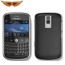 % 9000 orijinal Unlocked Blackberry Bold 9000 GPS WIFI 3G 1350mAh kullanılan cep telefonu ücretsiz kargo